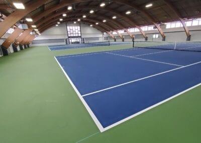 New Tennis Floor